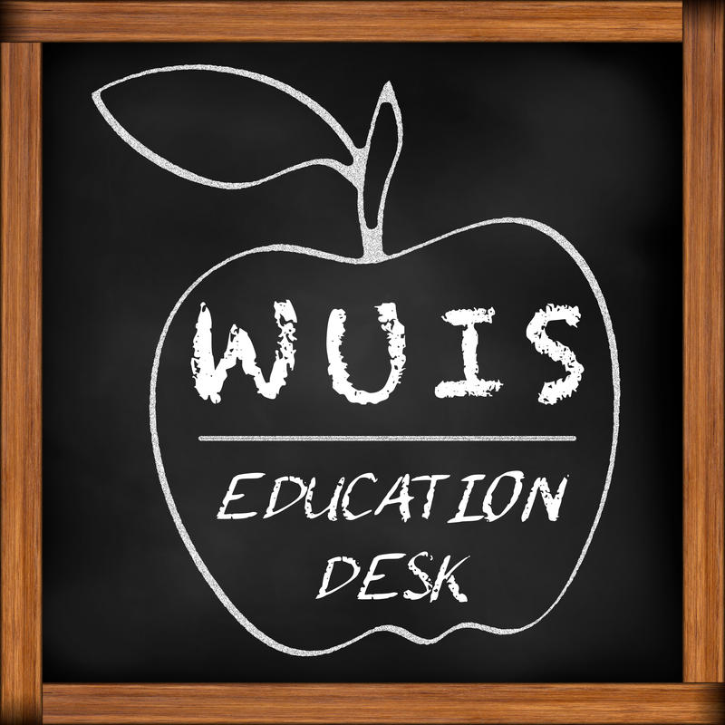 WUIS Education Desk logo