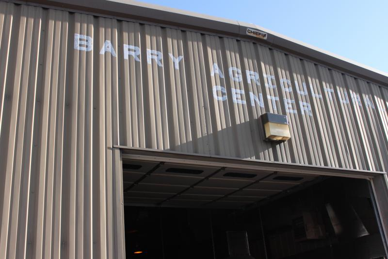 Barry High School and West Pike High School consolidated into Western High School.  This is the entrance to the ag shop in Barry.