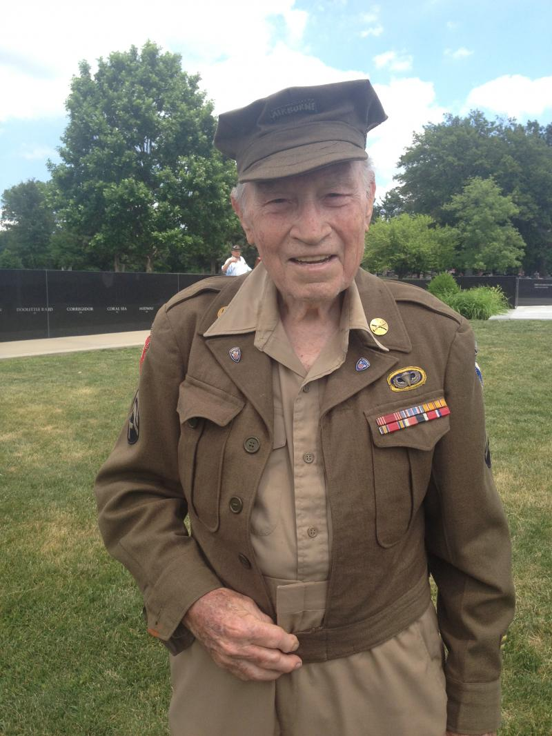 "88-year-old Jim Hofstetter was 18 on D-Day, the day he enlisted. Hofstetter says he rejects the nostalgia of the ""Greatest Generation"" and says he sees huge potential for millennials."