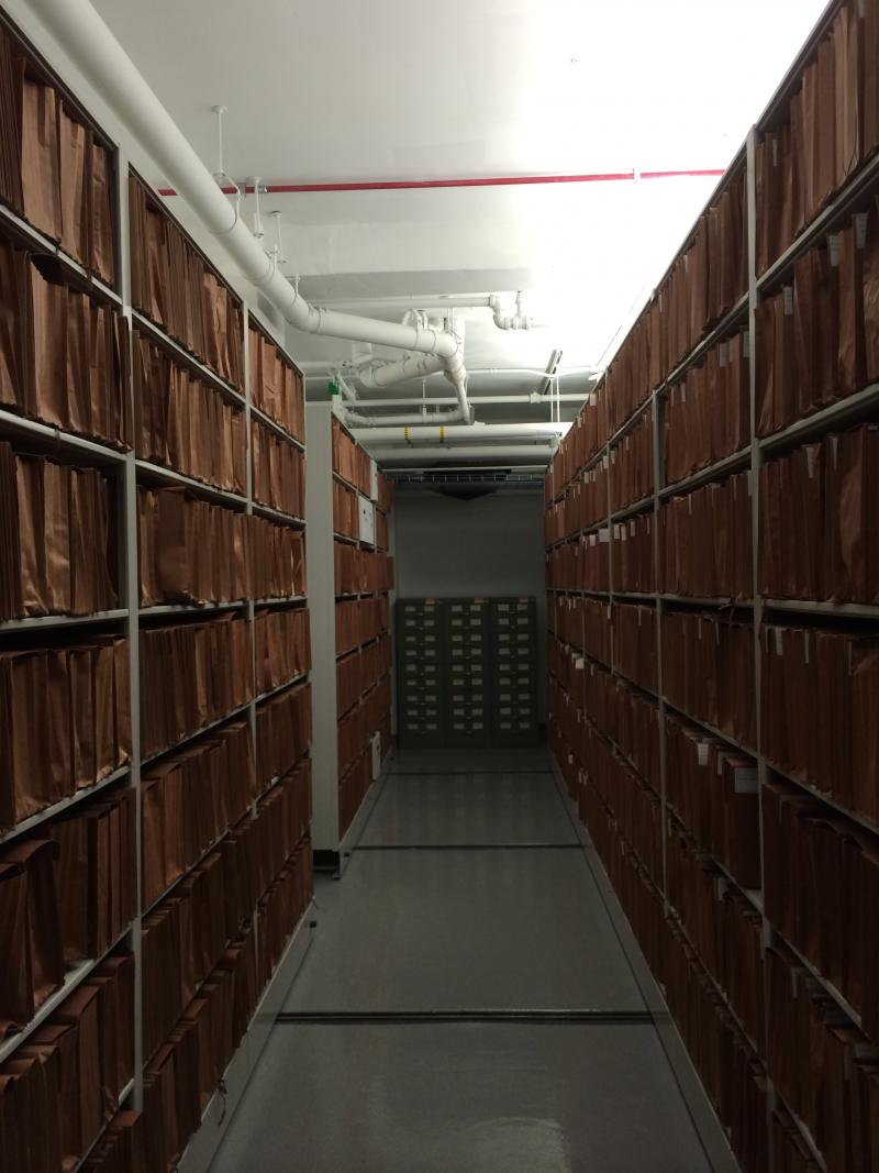 The basement of the Supreme Court houses all the court's original documents. The water table under the building is so high that when construction began last fall, the basement's floor revealed a natural spring.