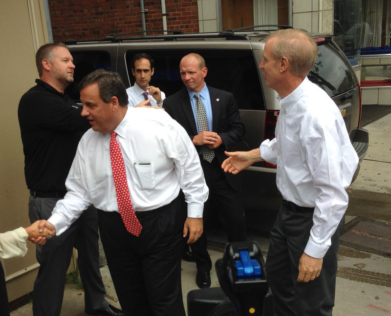 Christie and Rauner