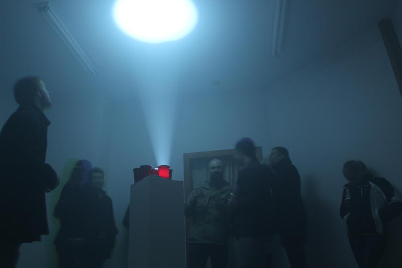Tony Balko: Party on, Pedestal Installation and performance at the STOREFRONT