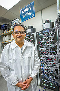 Venkat Srinivasan is a researcher for the U.S. Battery and Energy Storage Hub based at Argonne National Lab.