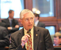 State Rep. Bob Pritchard, a Hinckley Republican, says he has been a member of at least nine caucuses.