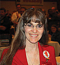 Valinda Rowe is the spokeswoman for the all-volunteer IllinoisCarry.Com, a Second Amendment rights group.