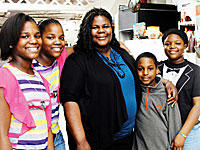Marilyn Escoe and her children — Kayla, Kyla and Kyle Escoe and Kaleyah Wesley — were homeless until November.