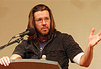 An upcoming film about the late author and former Illinois State University professor David Foster Wallace opted not to film in the Bloomington-Normal area and instead chose Michigan, reportedly for the state's more generous tax breaks.