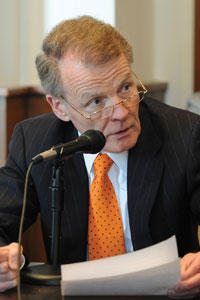 "House Speaker Michael Madigan, a Chicago Democrat, spoke about Medicaid on public television's Illinois Lawmakers: ""Boiling it down in more simple terms … who are the people that are eligible? How much of it will they get? How often will they get it?"