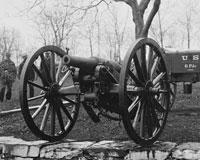 A gun at the arsenal in Washington, D.C.