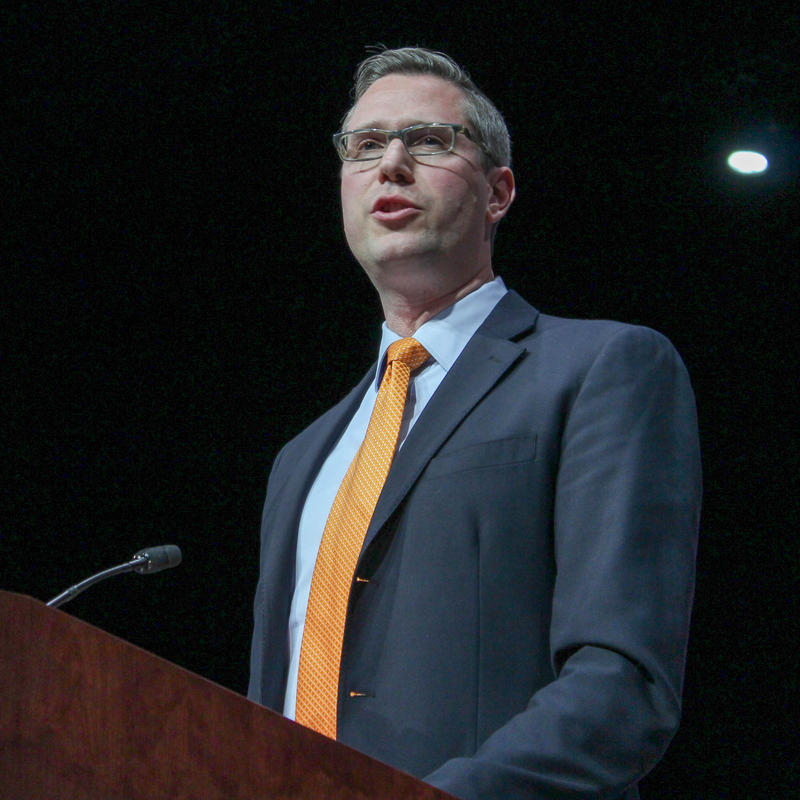 Mike Frerichs at Inauguration 2015
