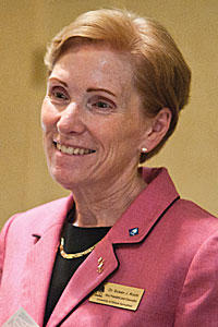 University of Illinois Springfield Chancellor Susan Koch previously served as an administratro at Northern Michigan University.