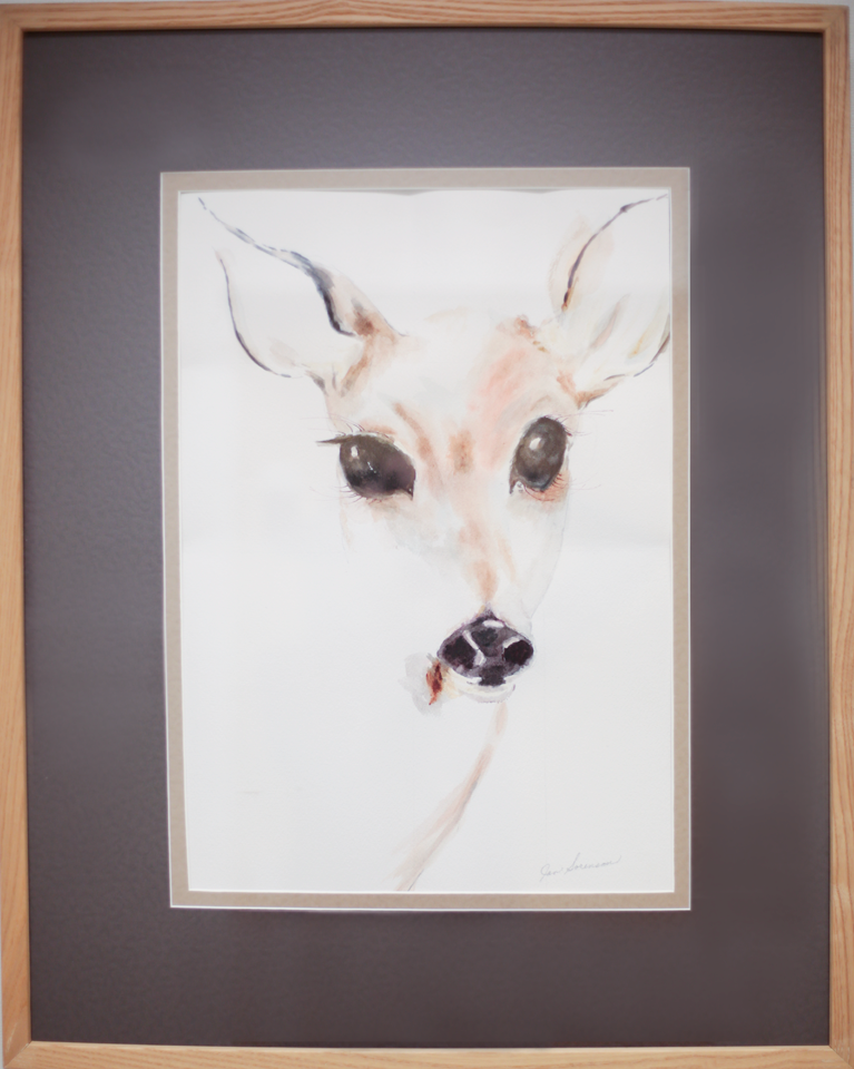 Doe A Deer, A Female Deer by Jan Sorenson