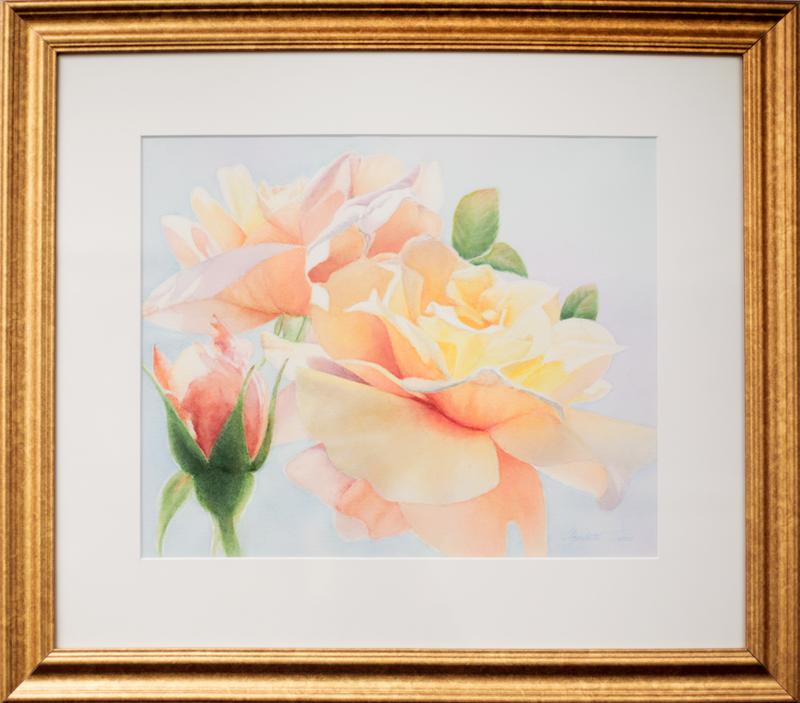Helen's Roses by Elizabeth Trone