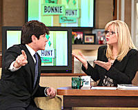 Former Gov. Rod Blagojevich on  The Bonnie Hunt Show.