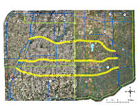 Proposed Illiana expressway routes