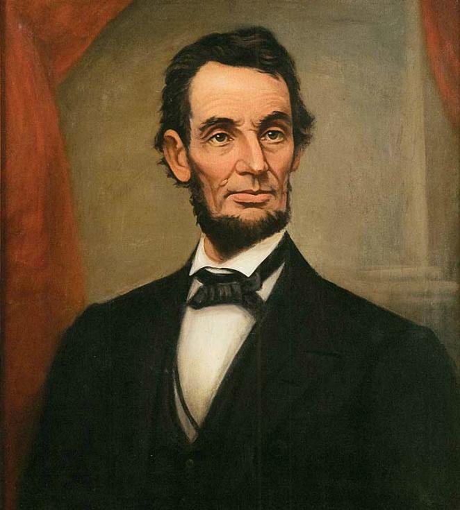 Portrait of Lincoln, 1864