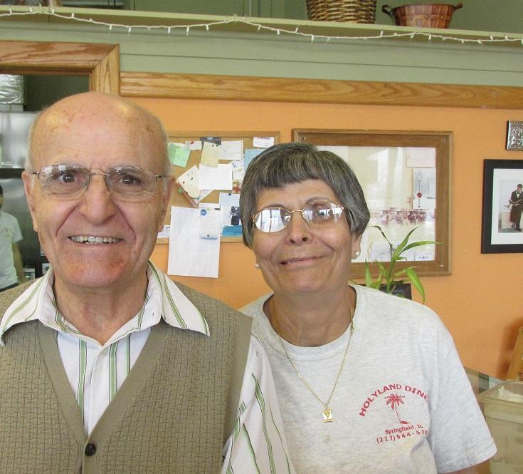 Jamal & Afaf Rashmawy, owners of Holy Land Diner