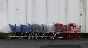 empty shopping carts