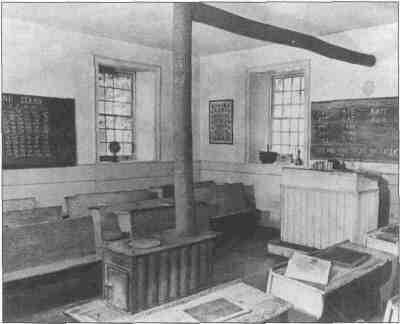 After the Civil War, near the time this picture was taken, the legislature authorized townships to establish schools.