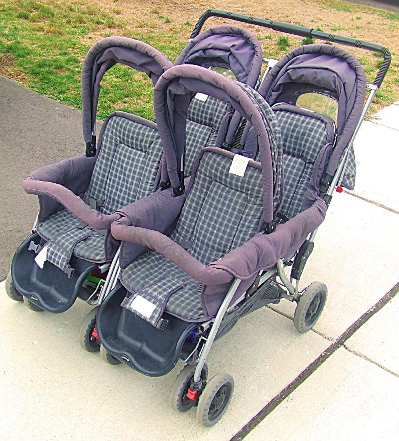 quad stroller