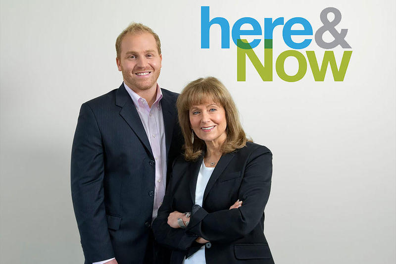 Hobson & Young midshot with Here & Now logo