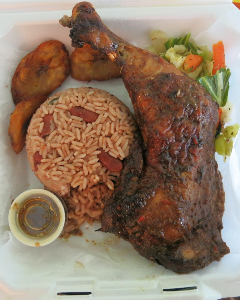 jerk chicken to go