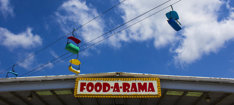 Food-a-rama at the Illinois State Fairgrounds