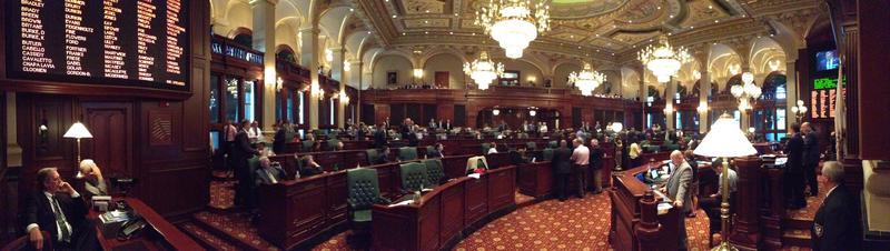 Illinois House floor