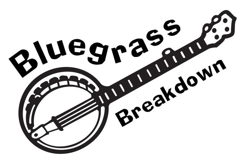 Bluegrass Breakdown banjo logo
