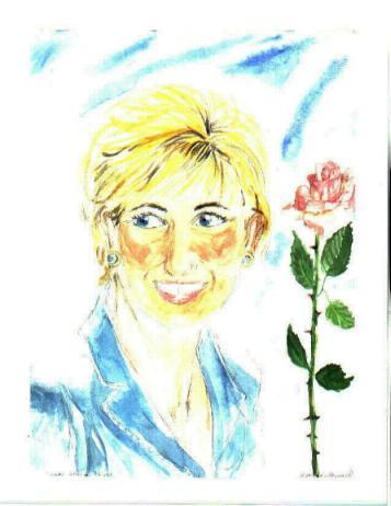 Diana - Working Princess with Rose