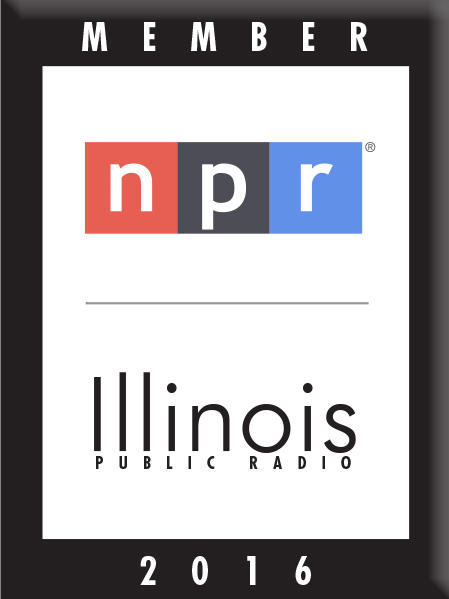 NPR Illinois 2016 Membership Button