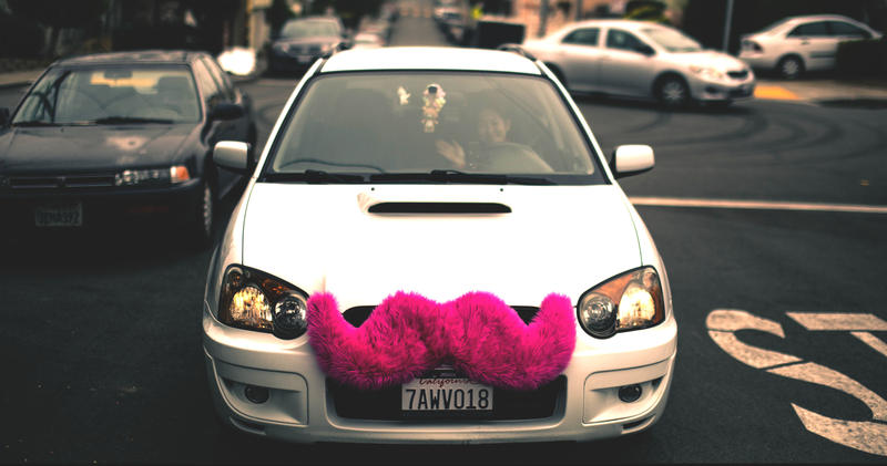 Earlier this year, Lyft started phasing out the company's large pink mustaches in favor of smaller identifiers.