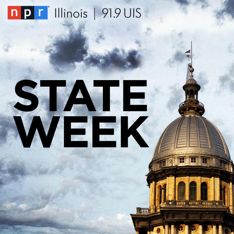 NPR Illinois State Week logo (Capitol dome)