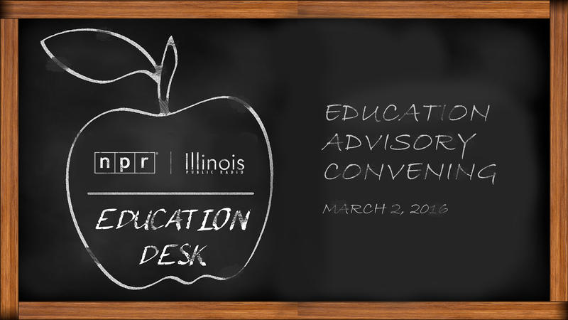 Chalkboard with Education Advisory Convening Date