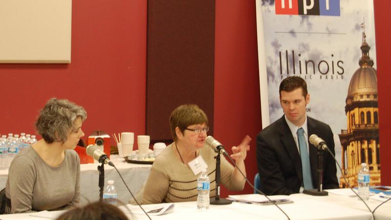 Nancy Barrett, UIS, talks higher ed.