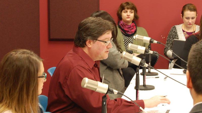 Sean Crawford, NPR Illinois Managing Editor, moderates.