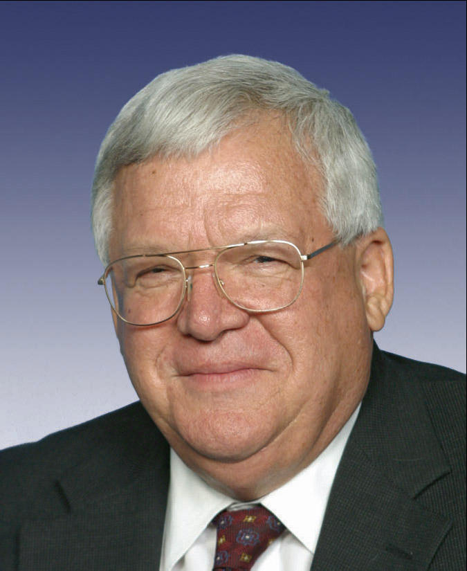 Dennis Hastert ca. 2007, his last year serving as US Speaker
