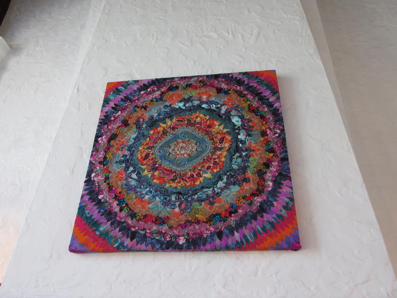 A HUGE mandala by Wendy Allen