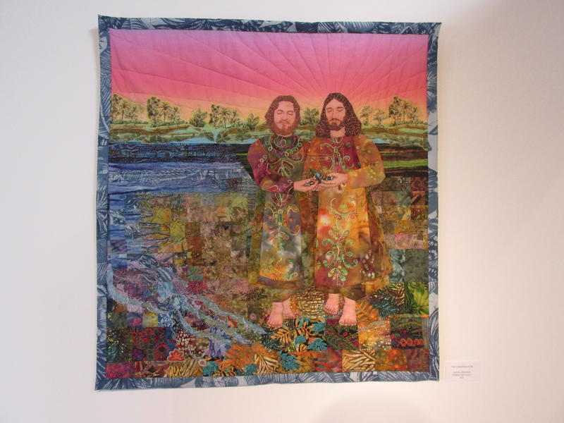 art quilt by Carol Bridges