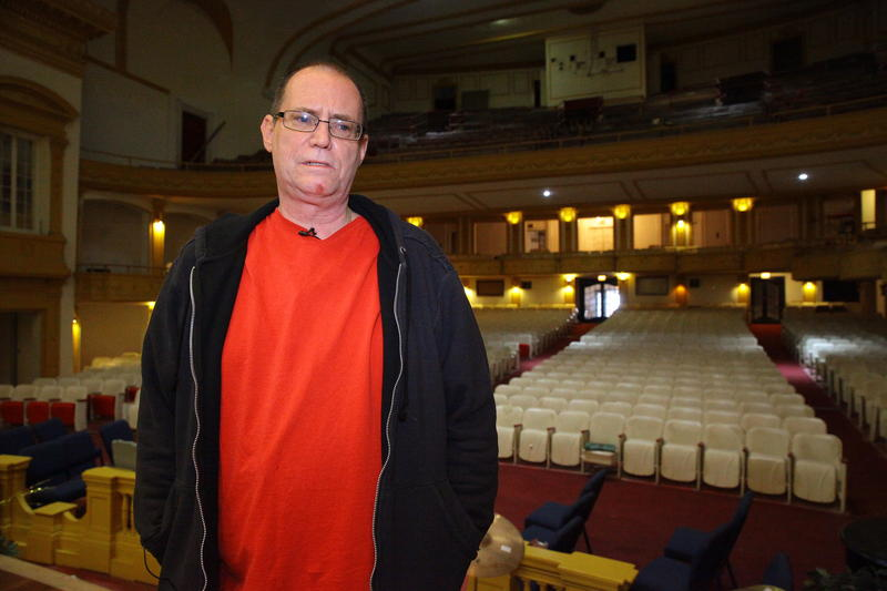 George Sherman was overseeing renovation of the Central Park Theatre before the city closed the building, after citing it for more than 100 code violations.