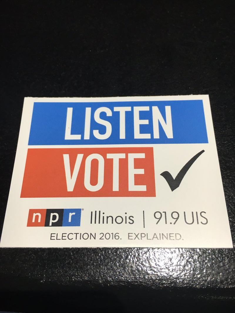 Listen Vote sticker