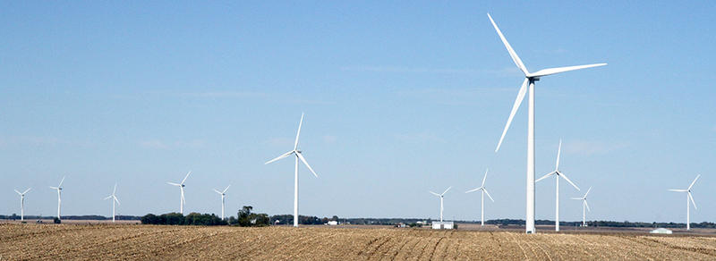 Central Illinois wind farm