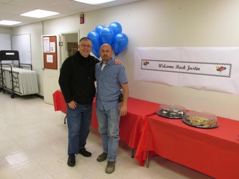 Stewart Bodford (L) & his donor, Justin Maduena