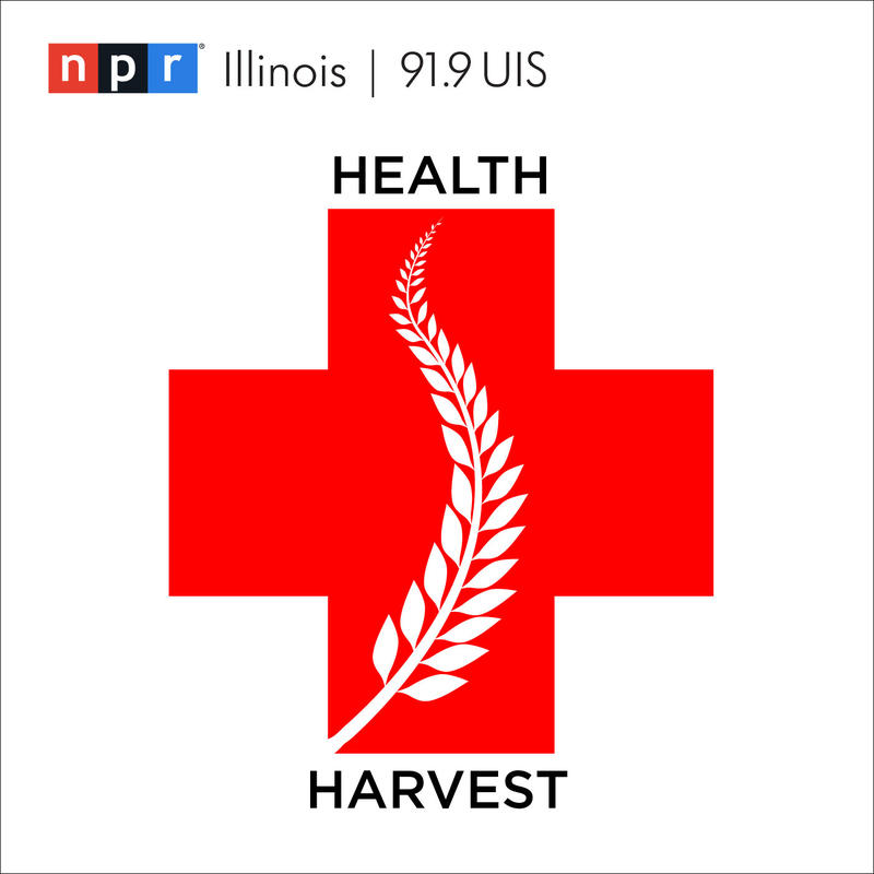 Health+Harvest red cross with wheat
