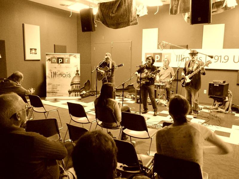 Trigger Gospel live in studio.