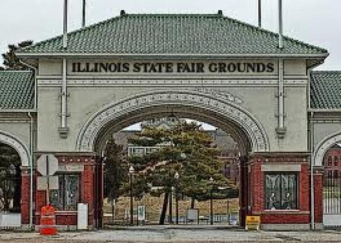Illinois State Fair Entry Gate