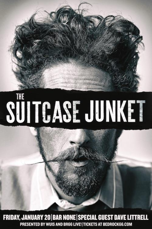 The Suitcase Junket official show poster
