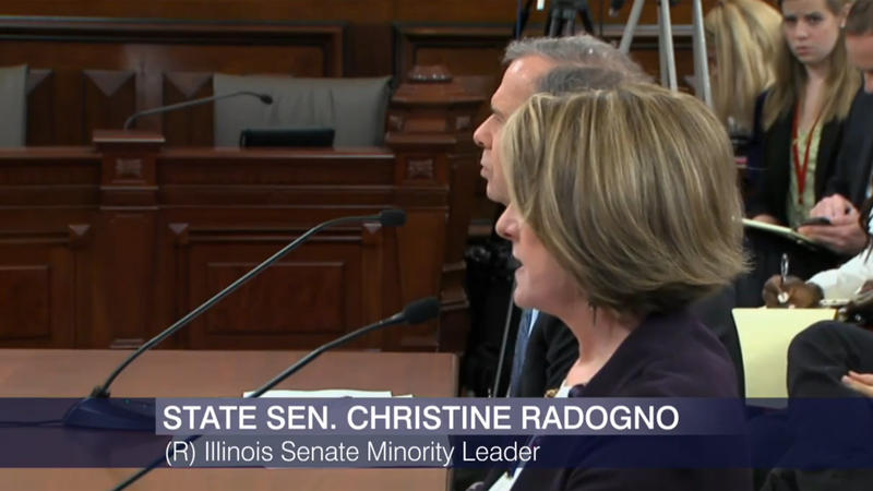 Christine Radogno and John Cullerton