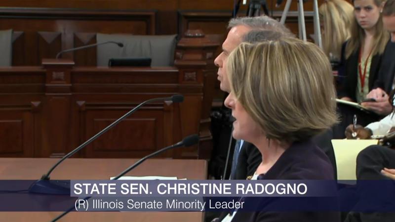 Christine Radogno and John Cullerton