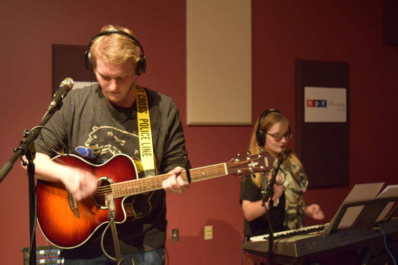 Geoff Leathers & Ellyn Thorson perform at NPR Illinois